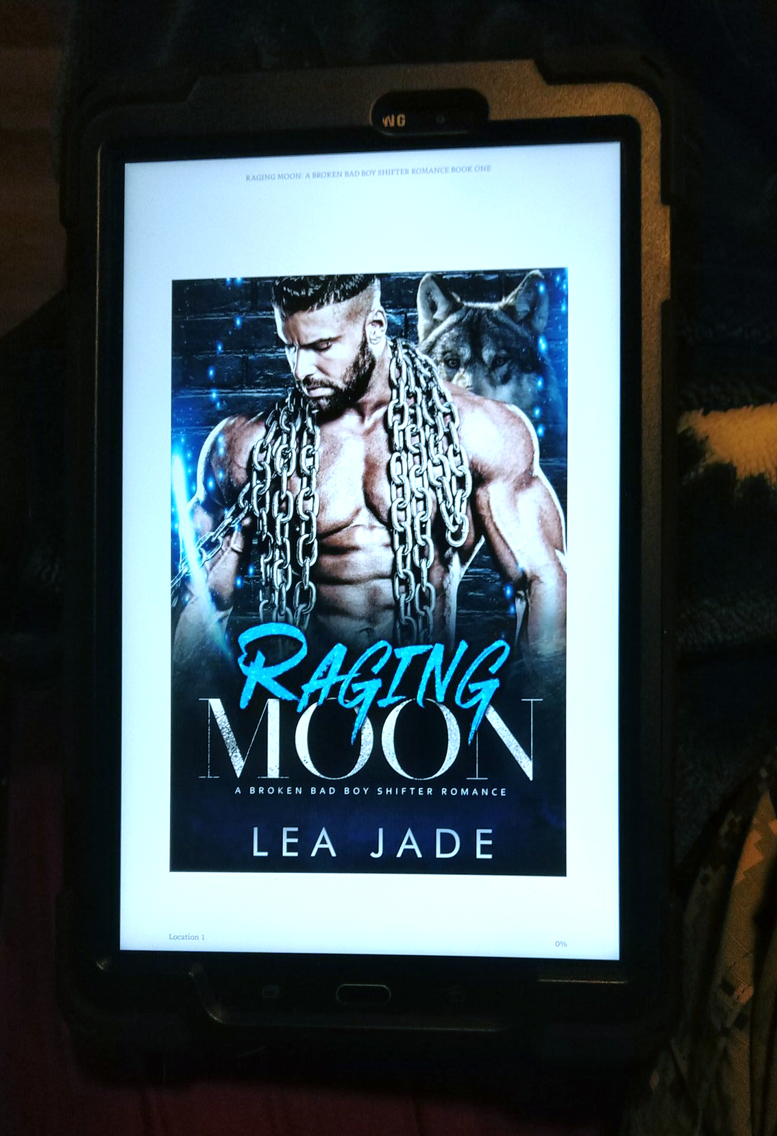Review: Raging Moon by Lea Jade