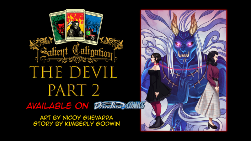 The Devil Part 2 novw available!