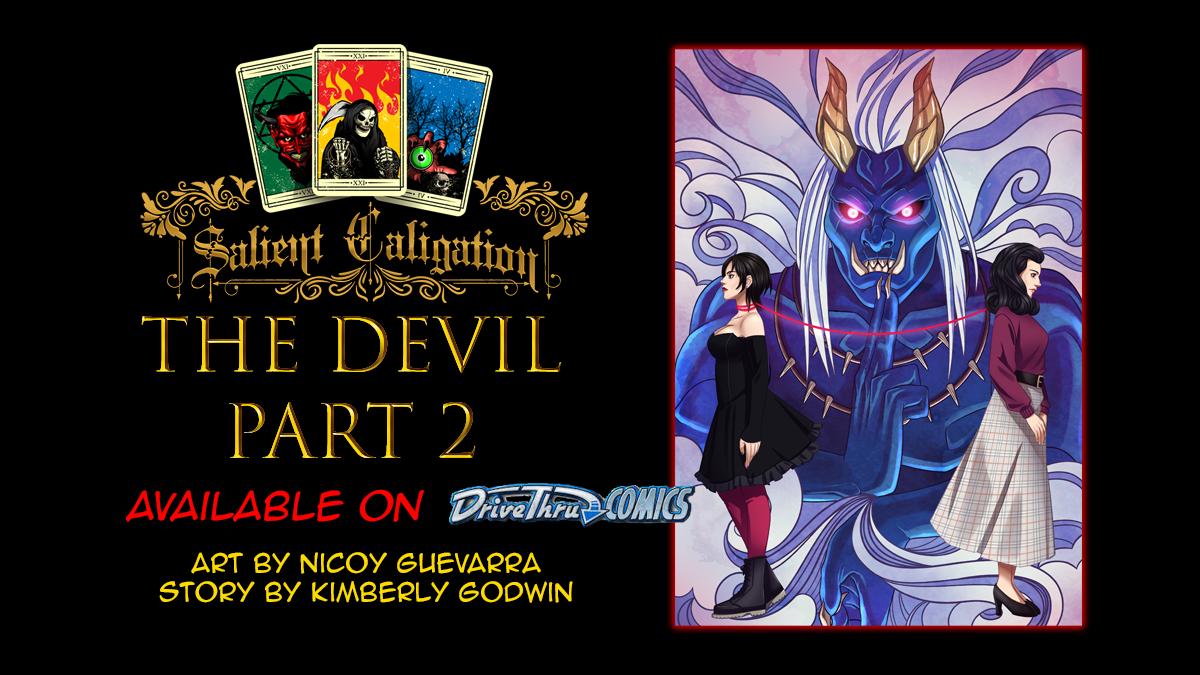 The Devil Part 2 novw available!